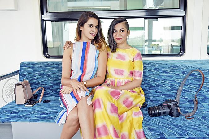 Emirates Holidays | Dubai | Akanksha Redhu | monorail sisters