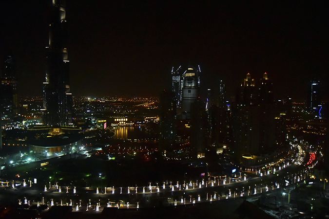 Emirates Holidays | Dubai | Akanksha Redhu | taj view night