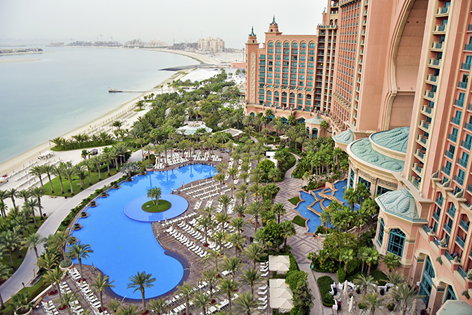 Atlantis The Palm | Dubai | Emirates Holidays | Akanksha Redhu | view from room pool