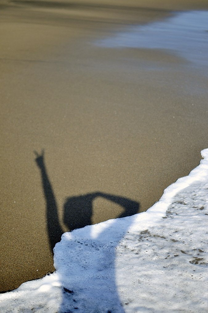 Berawa Beach | Bali | Akanksha Redhu | shadow in foam