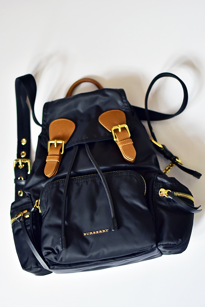 Bags | Akanksha Redhu | Burberry flatlay