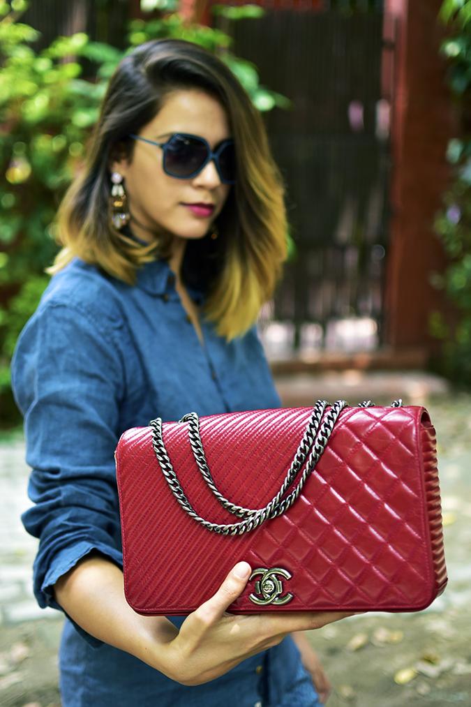 Bags | Akanksha Redhu | Chanel holding