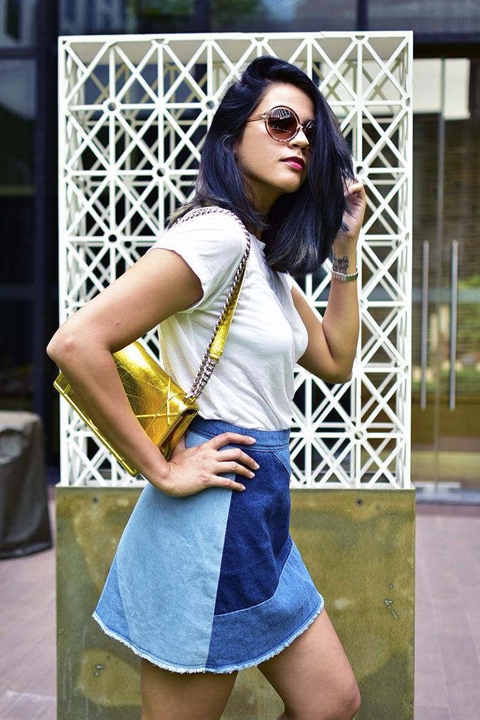 Dior | Akanksha Redhu | half side hair flipped