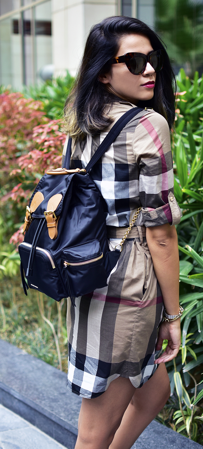 Bags | Akanksha Redhu | Burberry half side