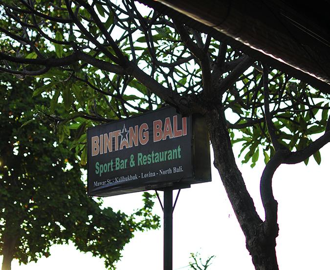 Lovina Beach | Bali | Akanksha Redhu | resto name