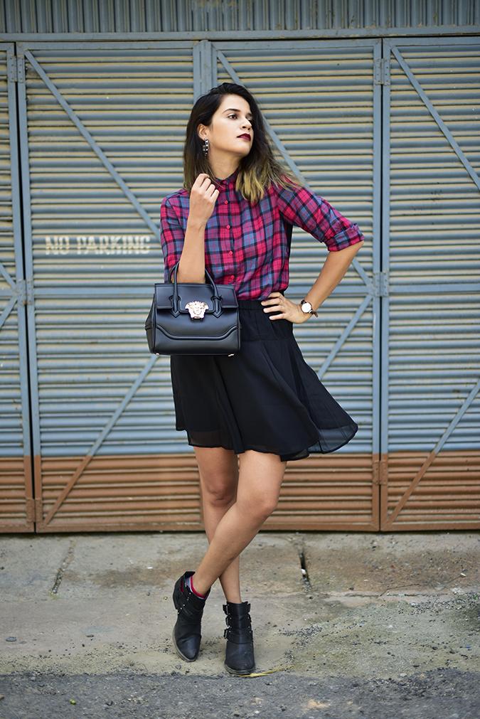 Sbuys | Akanksha Redhu | full front skirt fly