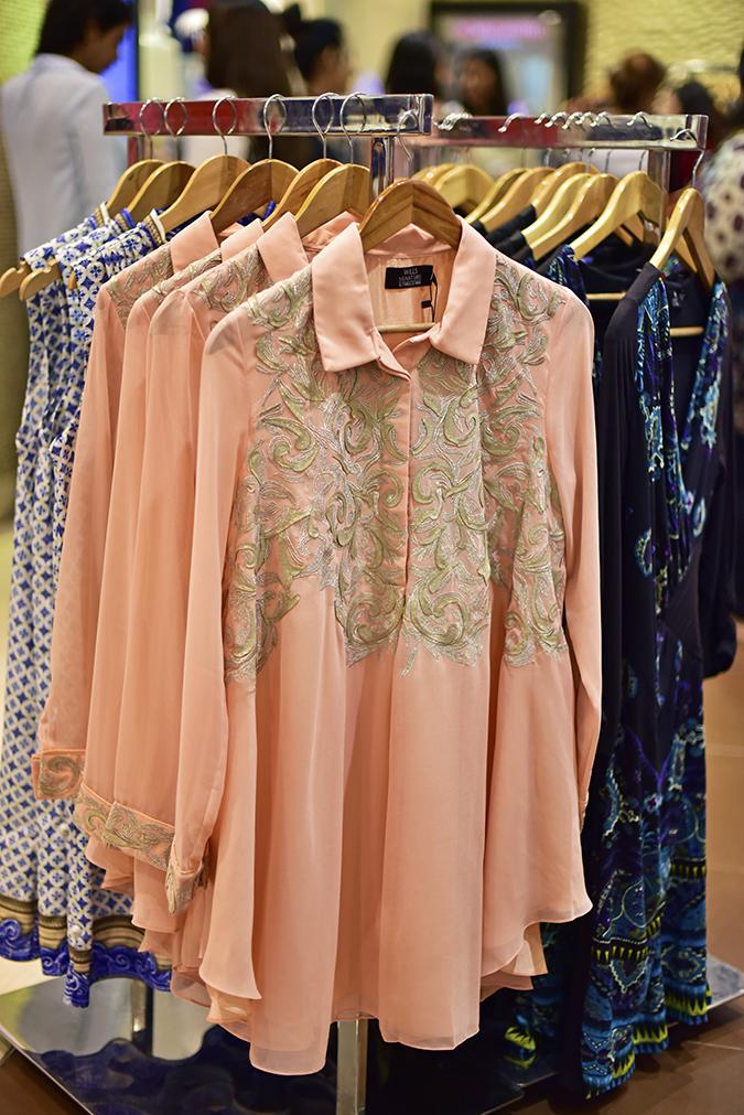 Wills Lifestyle AW16 | Akanksha Redhu | peach dress long