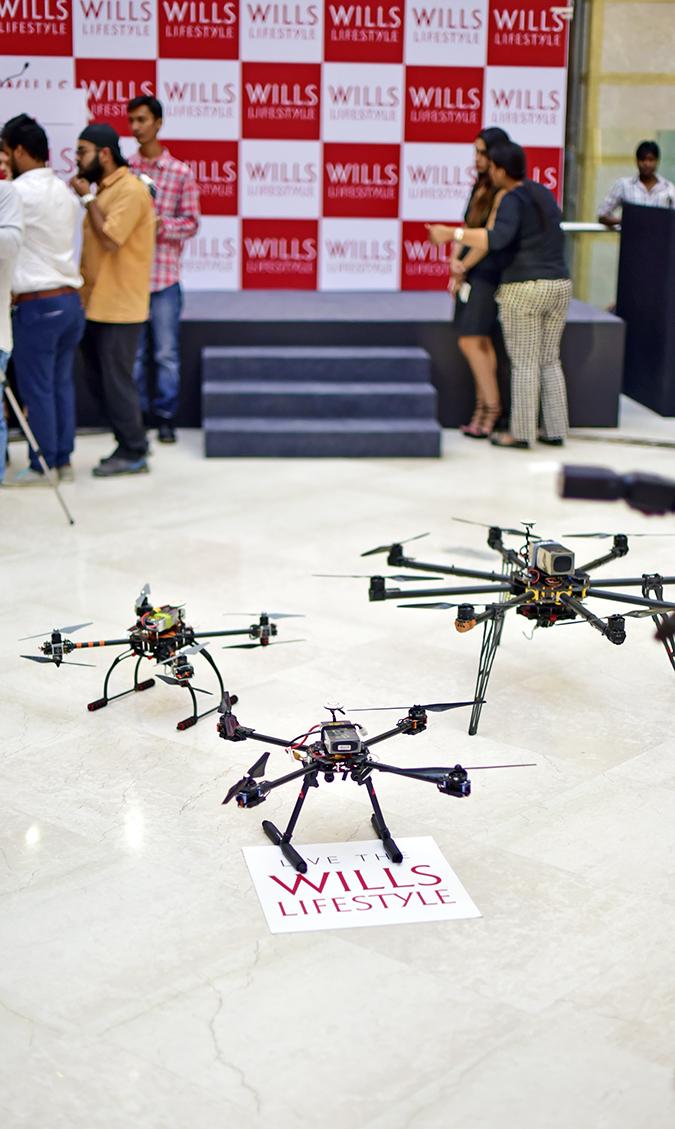 Wills Lifestyle AW16   Akanksha Redhu   drones on the ground