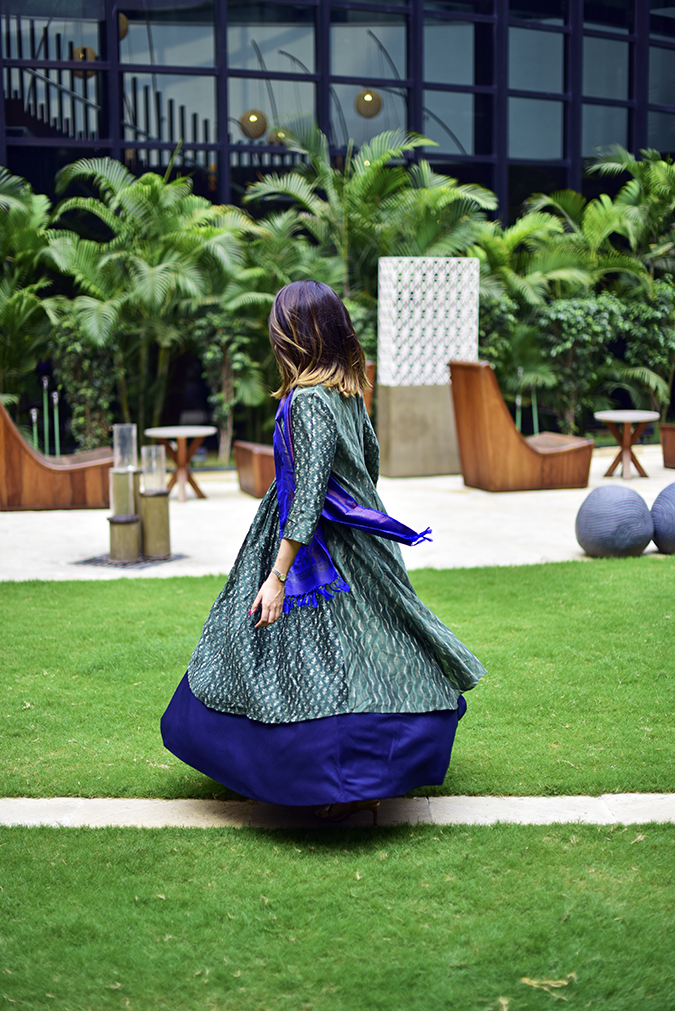 Amazon India Modern Festive | Akanksha Redhu | twirl side no face