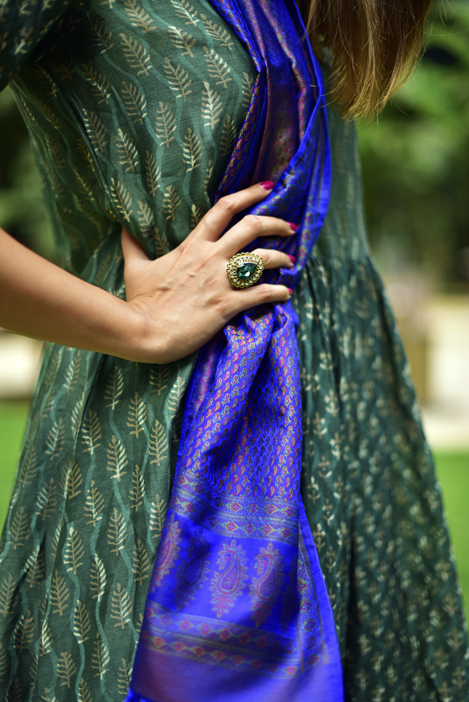 Amazon India Modern Festive | Akanksha Redhu | ring kurta print