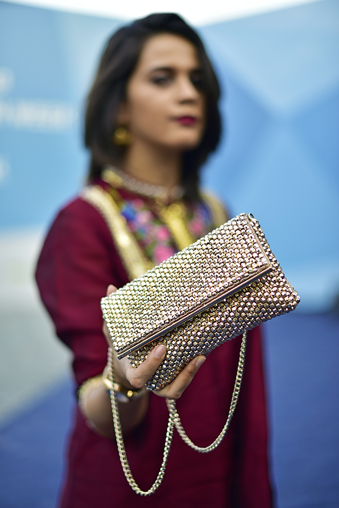 #AIFWSS17 | Akanksha Redhu | bag focus