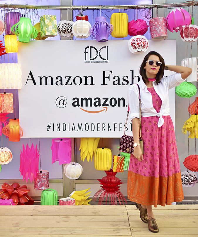 #AIFWSS17 | Akanksha Redhu | amazon branding