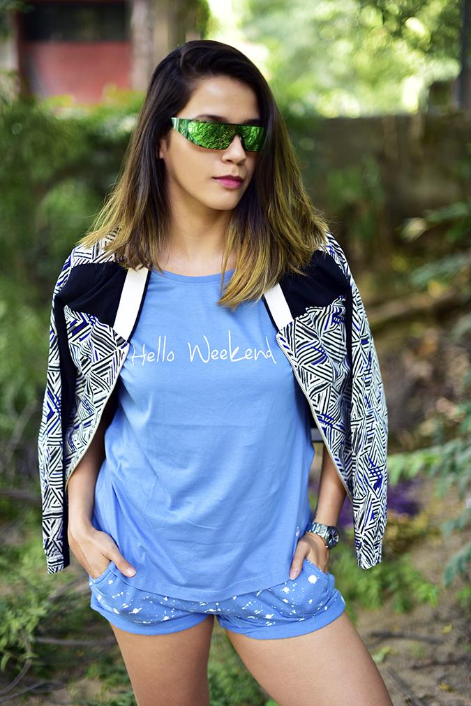 United Colors of Benetton | Akanksha Redhu | half front hands in pockets jacket on shoulders