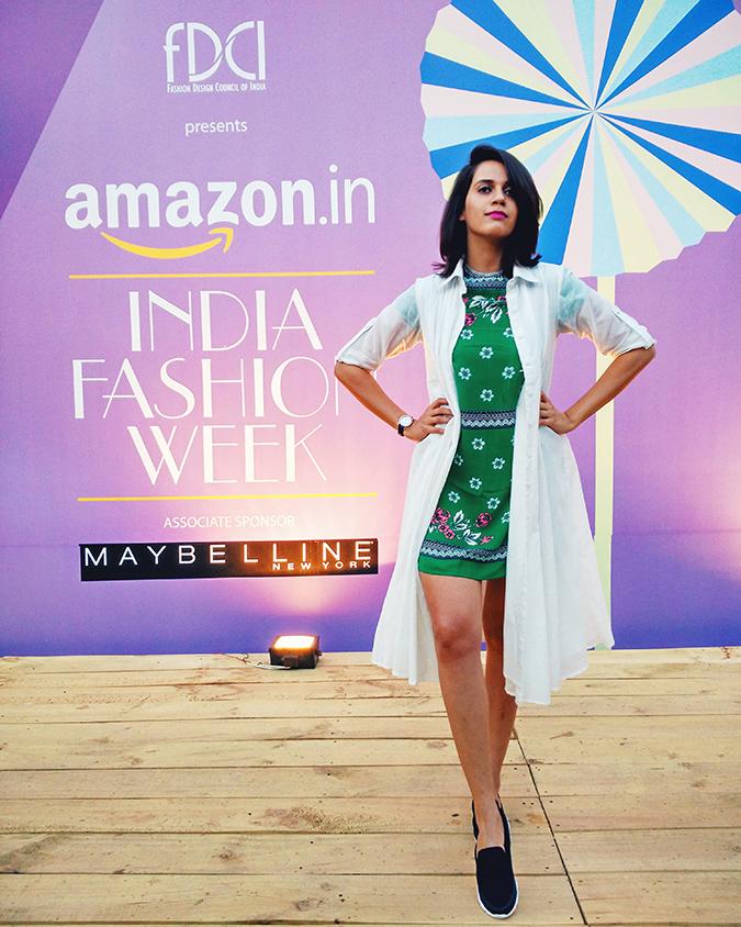 #AIFWSS17 | Akanksha Redhu | coolpad pic