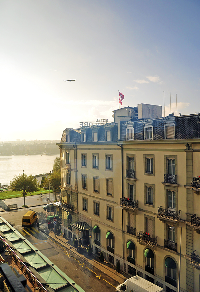 #GlionLuxury | Akanksha Redhu | view of lake from geneva hotel 3