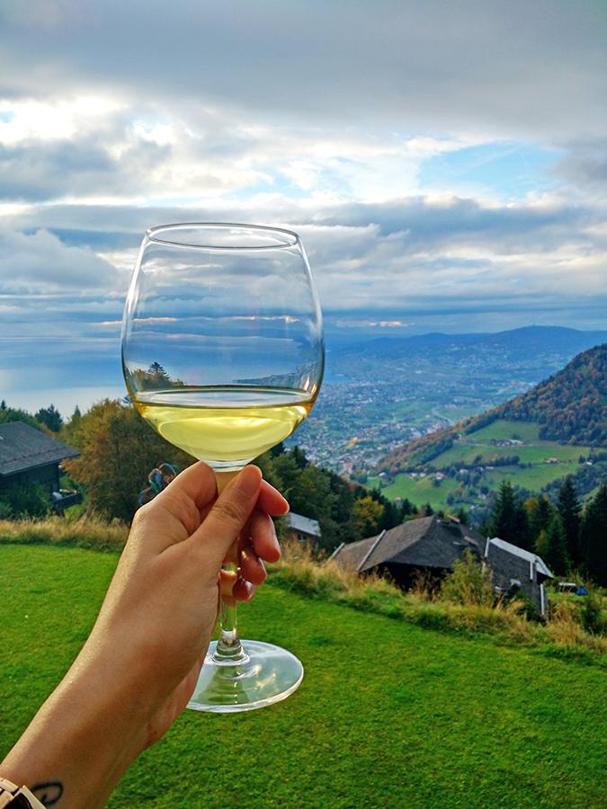 #GlionLuxury | Akanksha Redhu | wine glass view 32