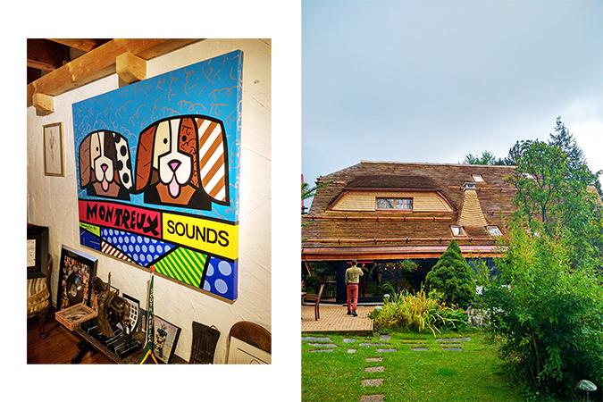 #GlionLuxury | Akanksha Redhu | doggy poster chalet exterior combo 33