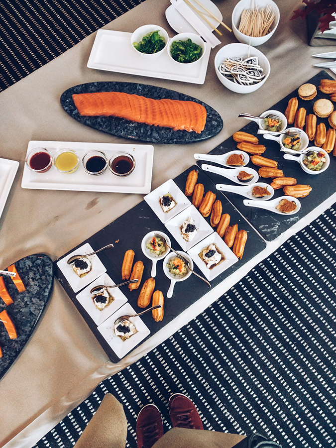 #GlionLuxury | Akanksha Redhu | food flatlay caviar house 8