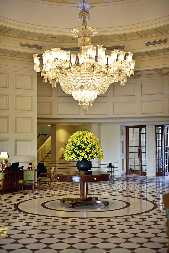 Salvatore Ferragamo | Akanksha Redhu | lobby chandelier