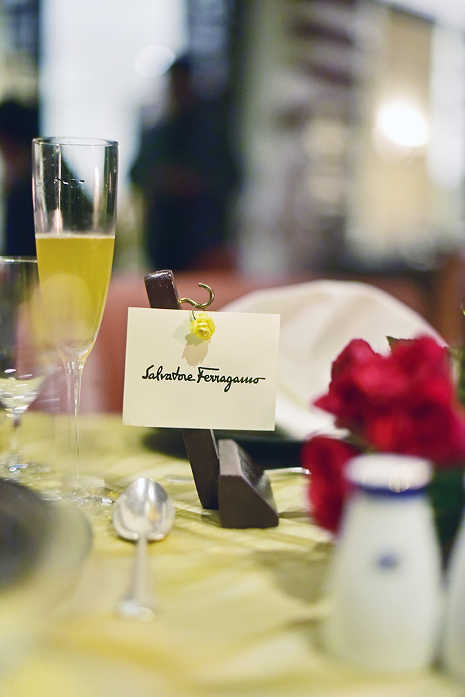 Salvatore Ferragamo | Akanksha Redhu | brand card on table