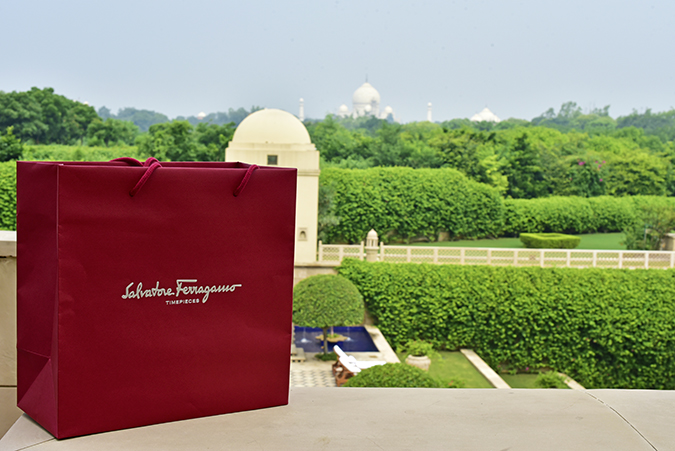 Salvatore Ferragamo | Akanksha Redhu | paper bag taj wide