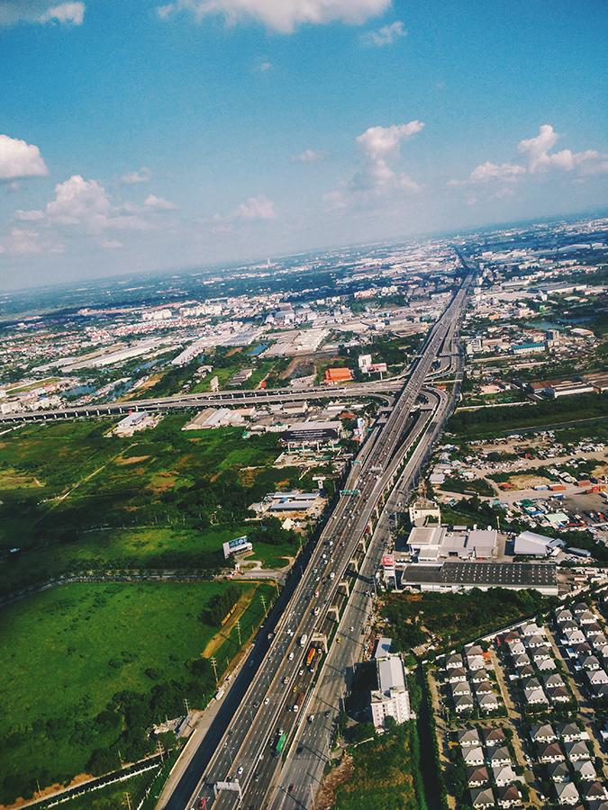 Bangkok | Akanksha Redhu | bkk roads from air