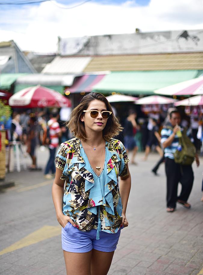 Chatuchak Weekend Market Bangkok | Akanksha Redhu | half front