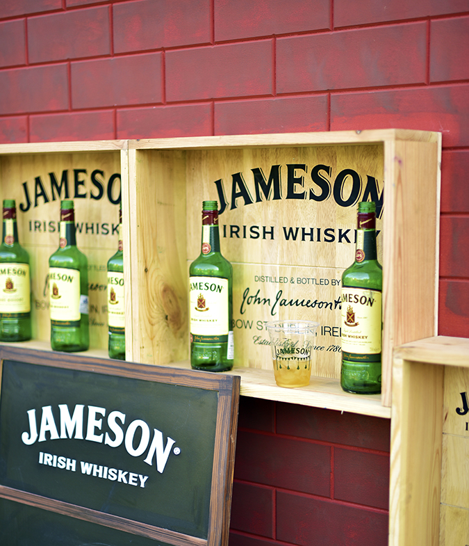 jameson brick wall