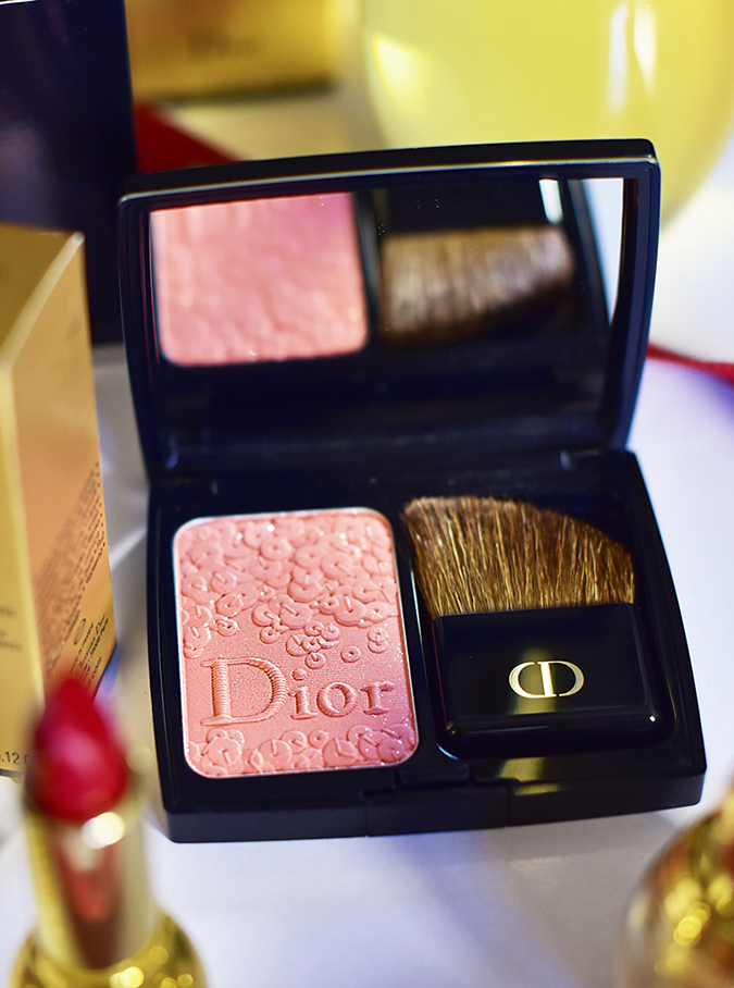 Dior Makeup | Akanksha Redhu | blush closeup