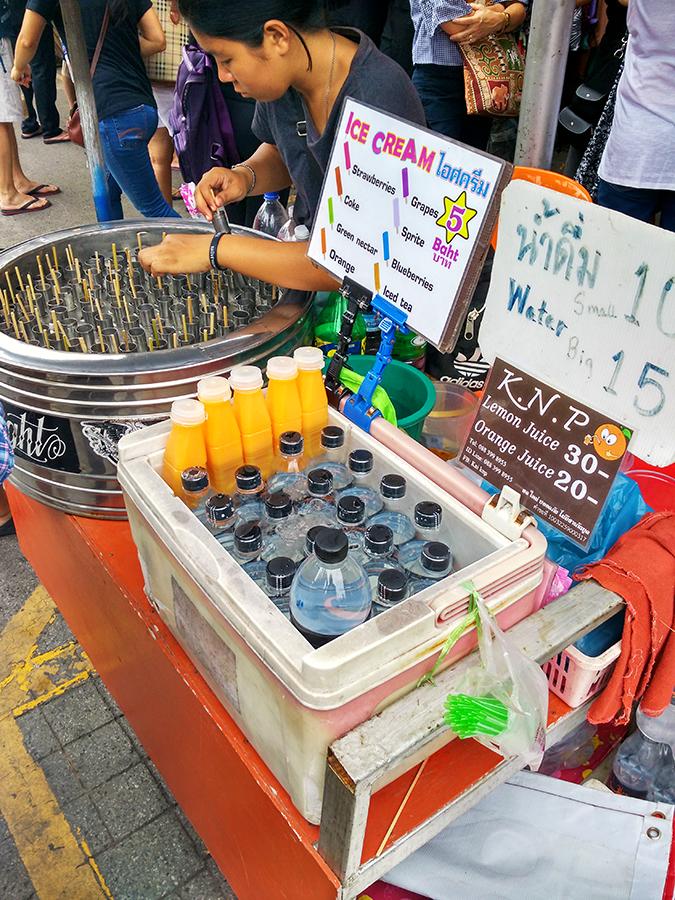 Chatuchak Weekend Market Bangkok | Akanksha Redhu | popsicle stand