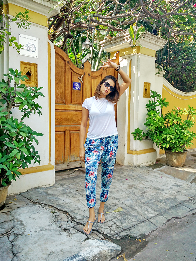 Pondicherry | Akanksha Redhu | full front in front of gate