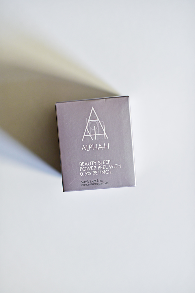 Alpha-H Beauty Sleep Power Peel | Akanksha Redhu | front carton lying