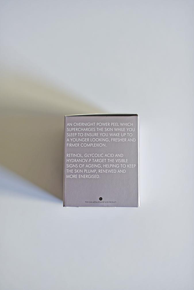 Alpha-H Beauty Sleep Power Peel | Akanksha Redhu | carton side grey