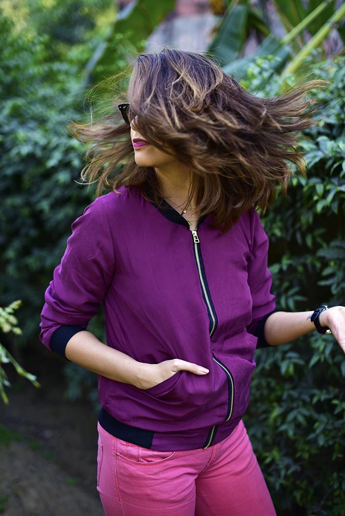 NETelier | Akanksha Redhu | hair flip