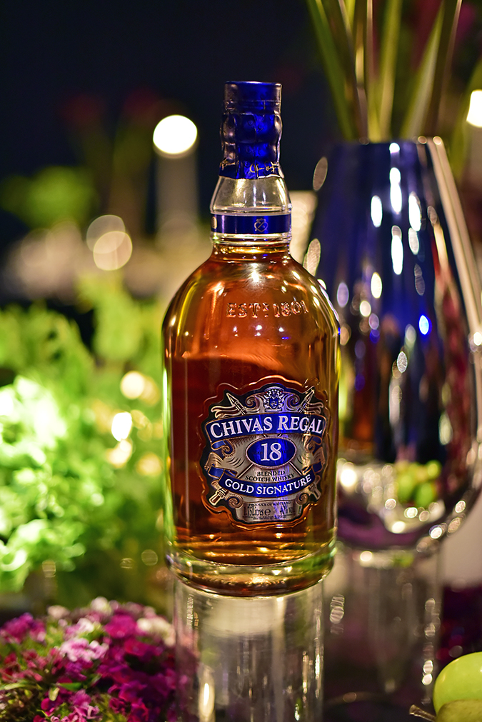 Chivas 18 Alchemy | Akanksha Redhu | chivas bottle kalyani table close up
