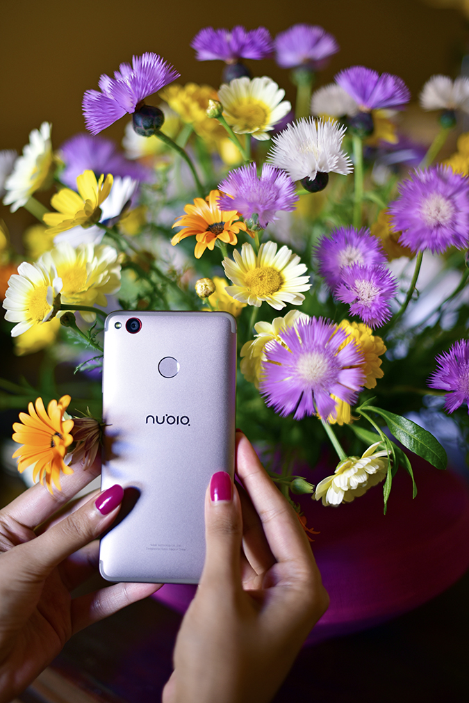 Nubia Z11 miniS | Akanksha Redhu | flower phone