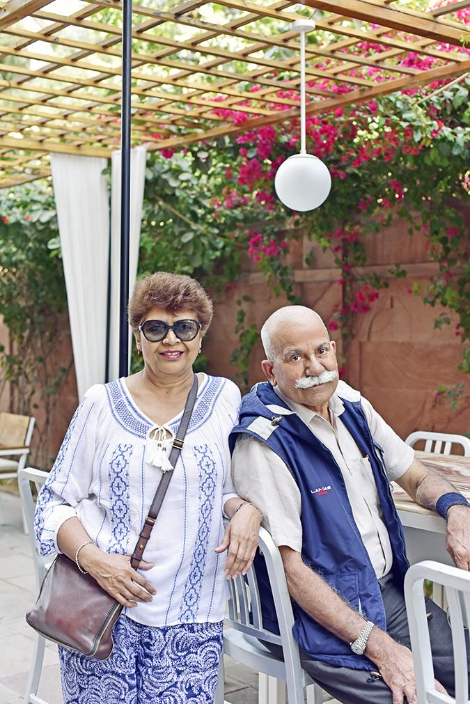 Narendra Bhawan   Akanksha Redhu   folks sitting outside