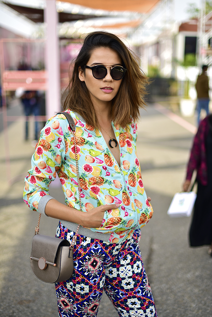 Amazon India Fashion Week | Akanksha Redhu | half front sun cover