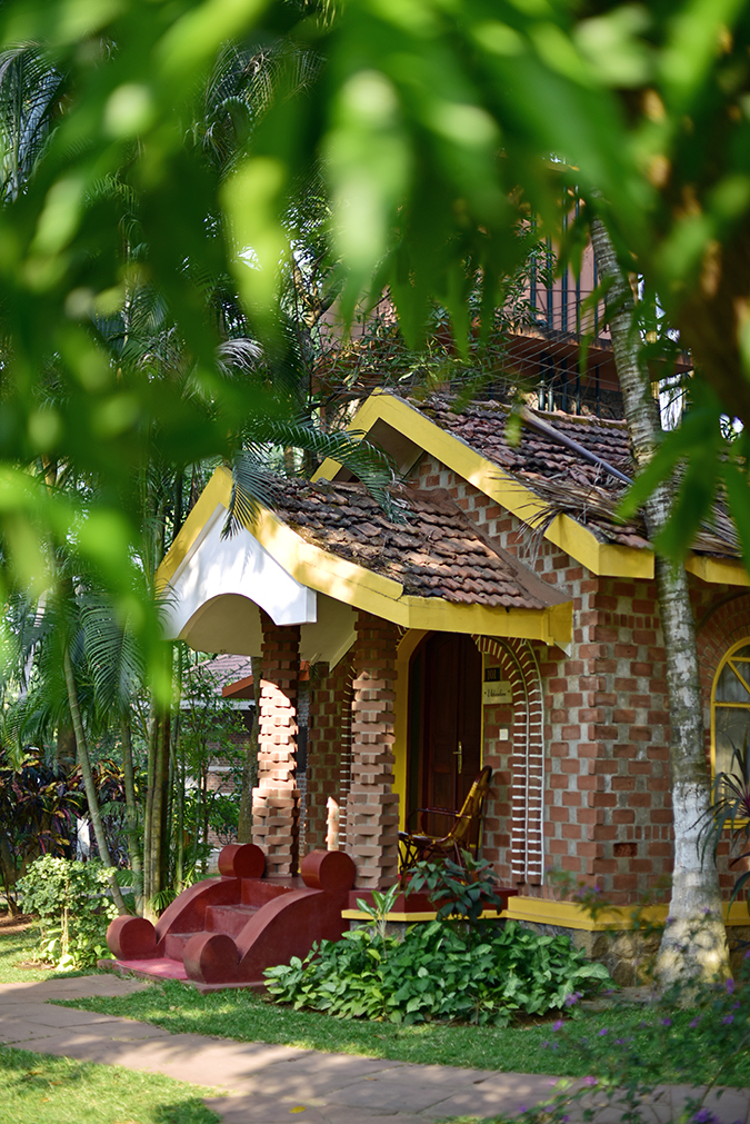 Kairali Ayurvedic Healing Village | Akanksha Redhu | villa front porch long