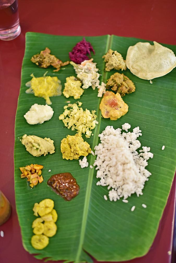 Kairali Ayurvedic Healing Village | Akanksha Redhu | banana leaf food