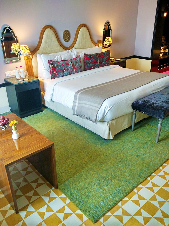 Narendra Bhawan | Akanksha Redhu | room bed