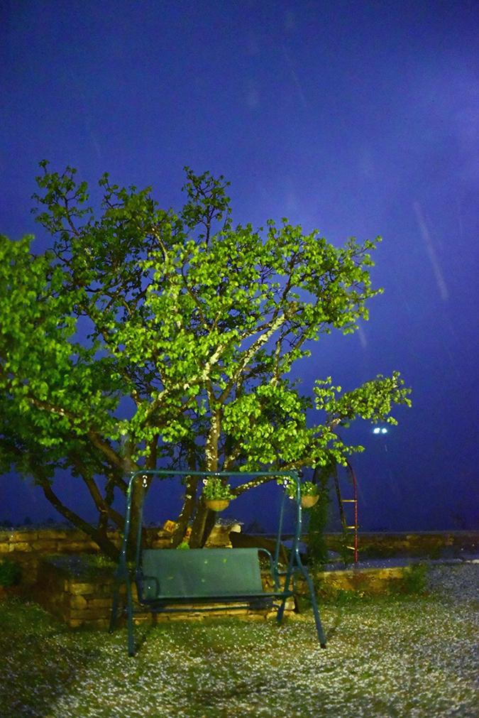 DYO The Organic Village Resort   Akanksha Redhu   lightning sky hail