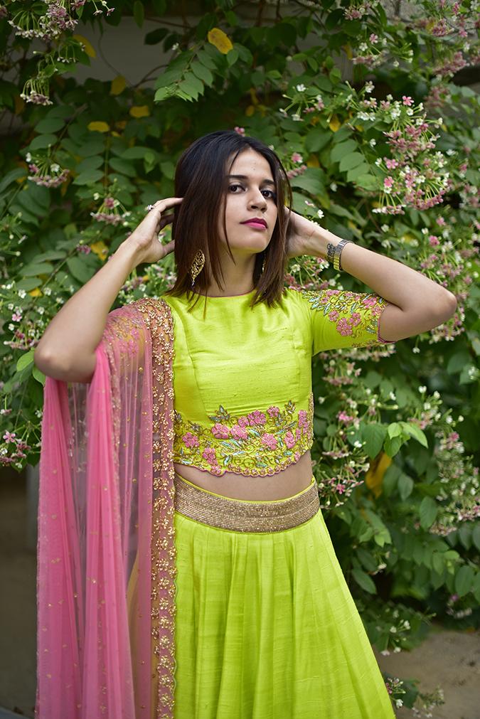 Date My Closet | Akanksha Redhu | front half loooking front