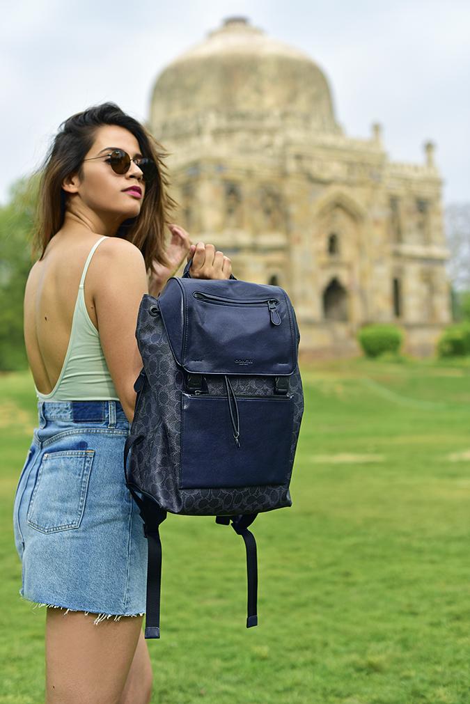 Coach India | Akanksha Redhu | backpack lodhi garden