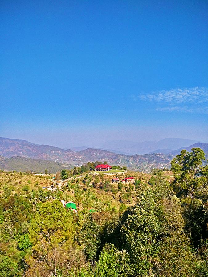 DYO The Organic Village Resort   Akanksha Redhu   resort from far