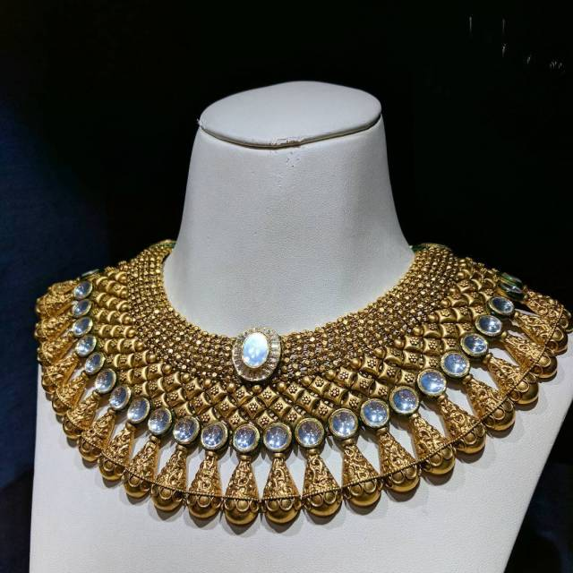 Another beauty from the Rivaah Collection by tanishqjewellery  seehellip