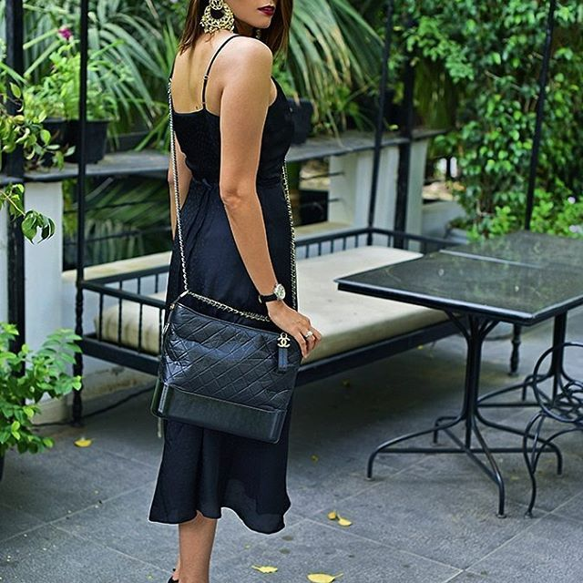 All black everything with the new chanelofficial Gabrielle Bag onhellip