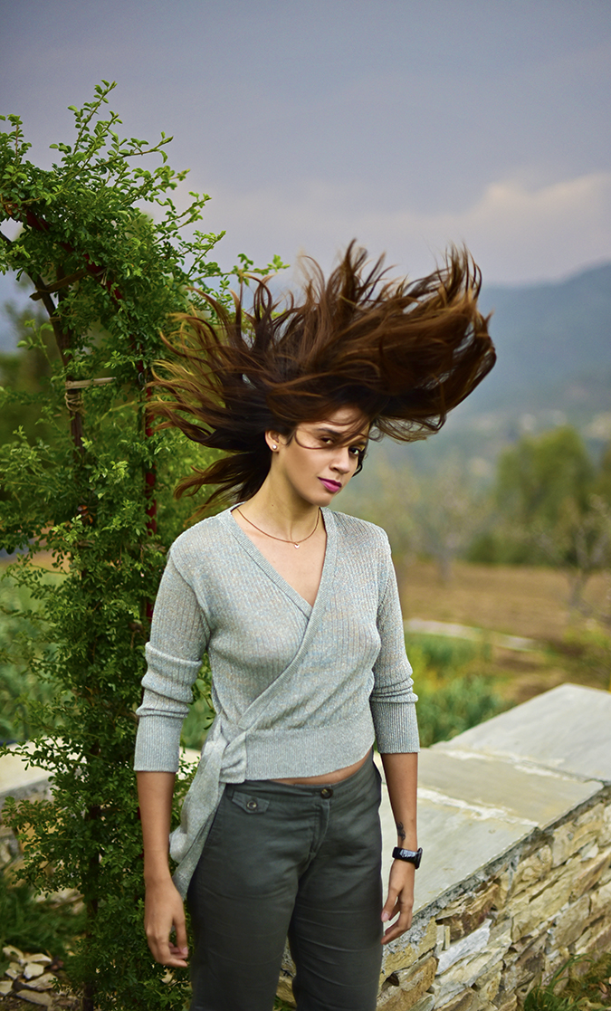 Mukteshwar | Akanksha Redhu | front half hair flip