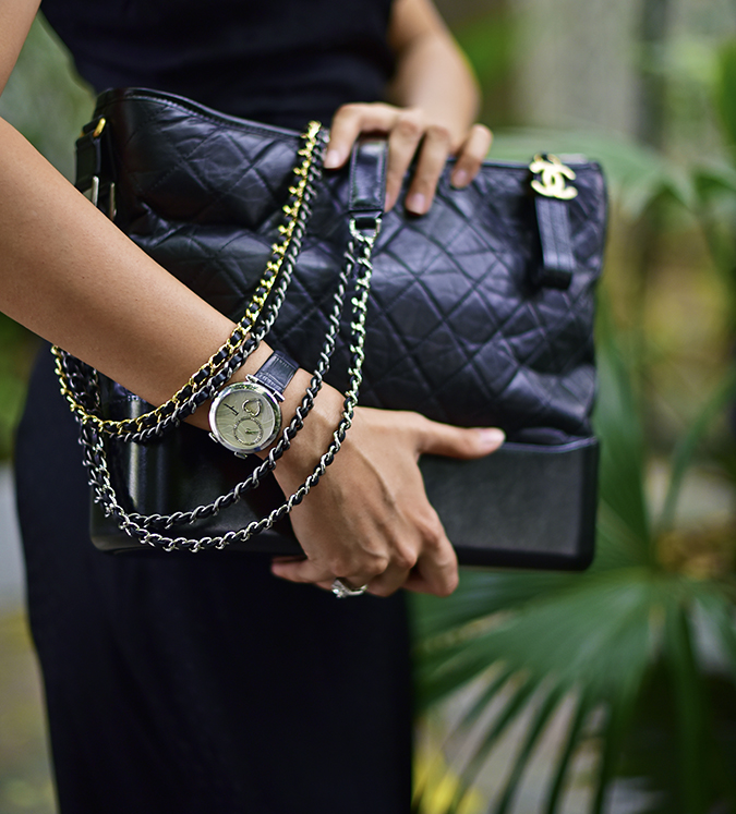 Chanel Gabrielle Bag | Akanksha Redhu chains watch