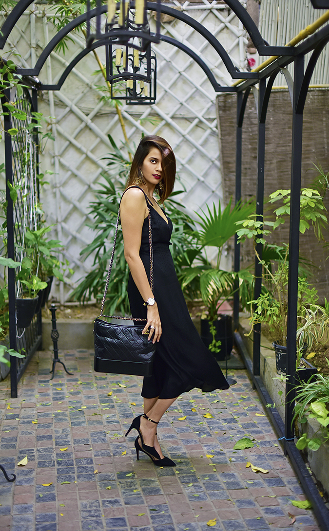 Chanel Gabrielle Bag | Akanksha Redhu full side walk far
